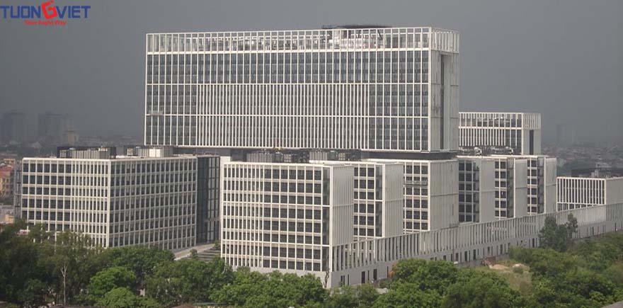 Trụ sở bộ công an Hà Nội