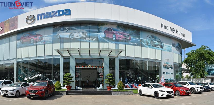Hệ thống Showroom Mazda