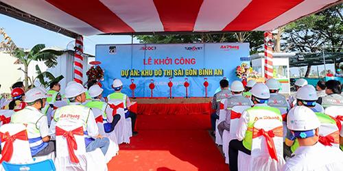Tường Việt tự hào là đơn vị Tổng thầu dự án Khu đô thị Sài Gòn Bình An