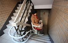 Ghế thang máy cho chung cư cũ ở Thượng Hải